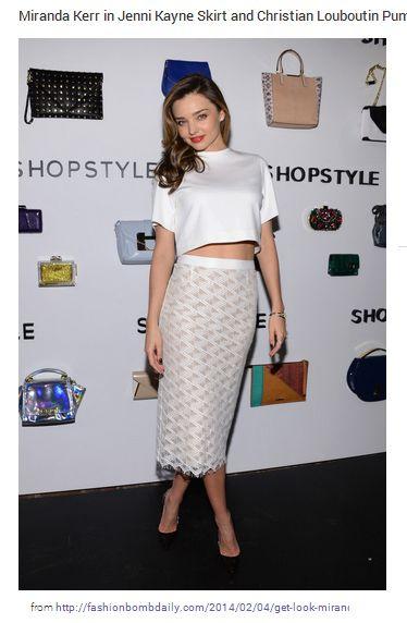 Miranda Kerr Skirt