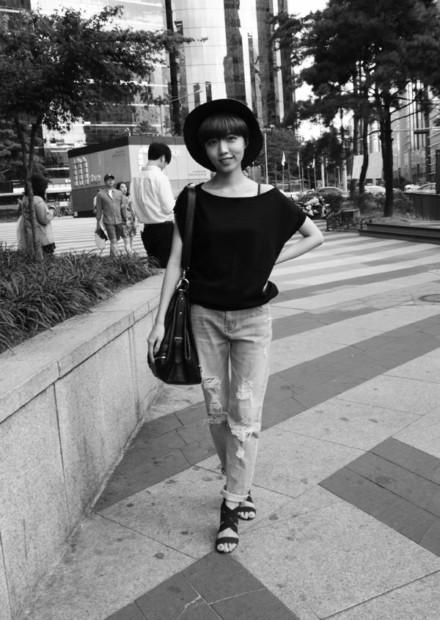Seoul Streets: Gangnam fashionistas