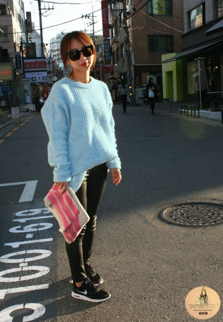 Seoul Street Style: Leather It Up