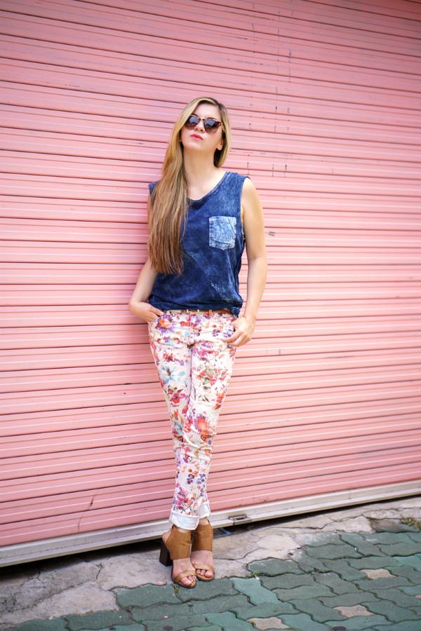 Floral, Pink, Blogger, Seoul