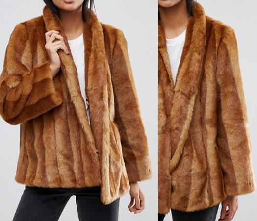 Faux Fur Coat, Style