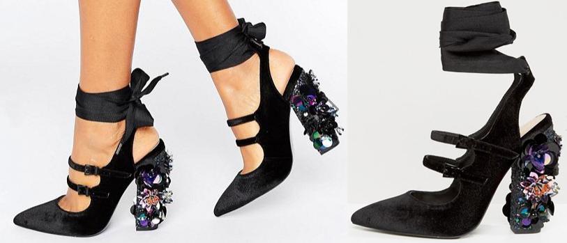ASOS, Embellished Heels
